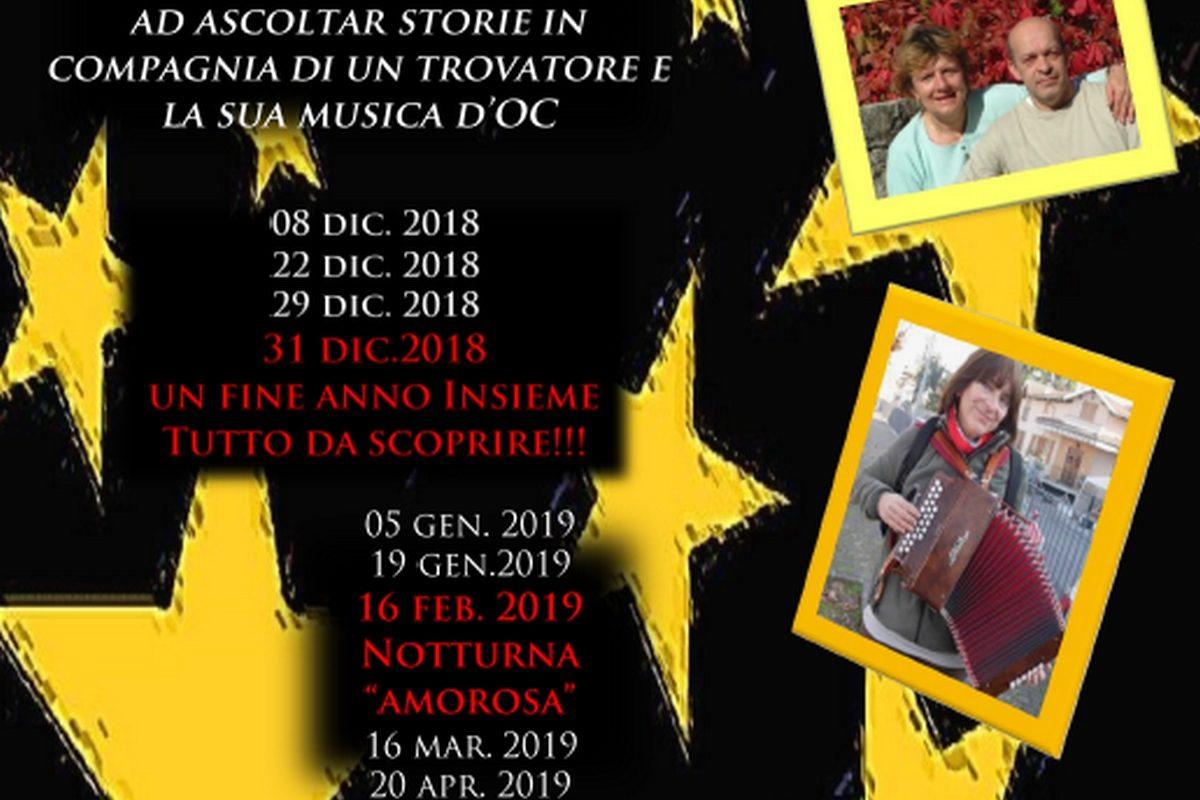 ESCURSIONI NOTTURNE MUSICALI 2018 / 2019
